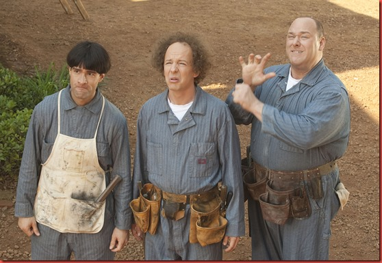 THE THREE STOOGES<br /><br /><br /><br /><br /><br />TM and &not;&copy; 2011 Twentieth Century Fox Film Corporation. &not;&dagger;All rights reserved. &not;&dagger;Not for sale or duplication.