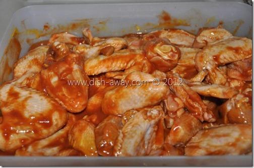 Sweet Baked Chicken Wings Recipe by www.dish-away.com