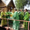 Престольный праздник в Лухском Св.Николо-Тихоновском монастыре 29 июня 2013 года село Тимярязево, Лухского района, Ивановской области. Фото.