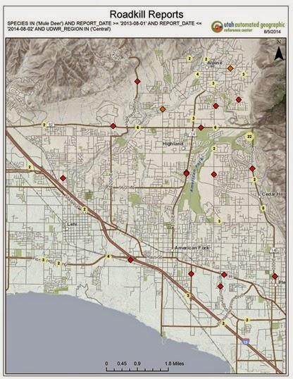 2014-08-05 Roadkill Reports 2013-2014
