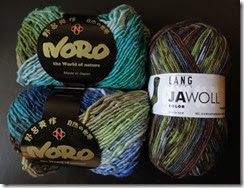 Noro Kureyon and Jawoll