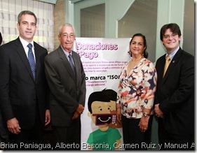 Brian Paniagua, Alberto Besonias, Carmen Ruiz, Manuel Grullon Hernandez