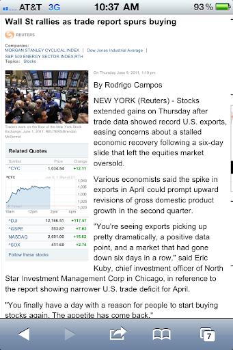 Stock rally