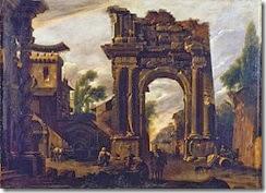 350px-Artgate_Fondazione_Cariplo_-_Codazzi_Viviano,_Capriccio_con_un_arco_e_scena_di_genere
