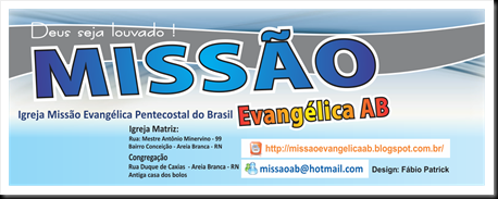 banner da página do face