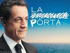 Nicolas Sarkozy la pòrta