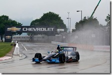 Barrichello a Belle Isle