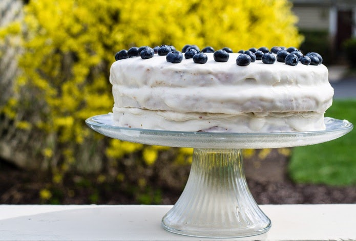 Lemon Blueberry Cake (6)