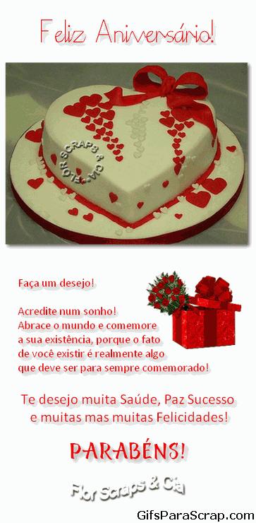 Feliz aniversário Faça um desejo Bolo formato de c