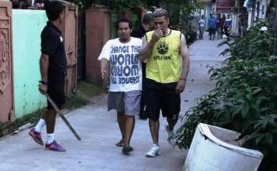 Bus Dilempari Batu, Cristian Gonzales Kejar Pelaku