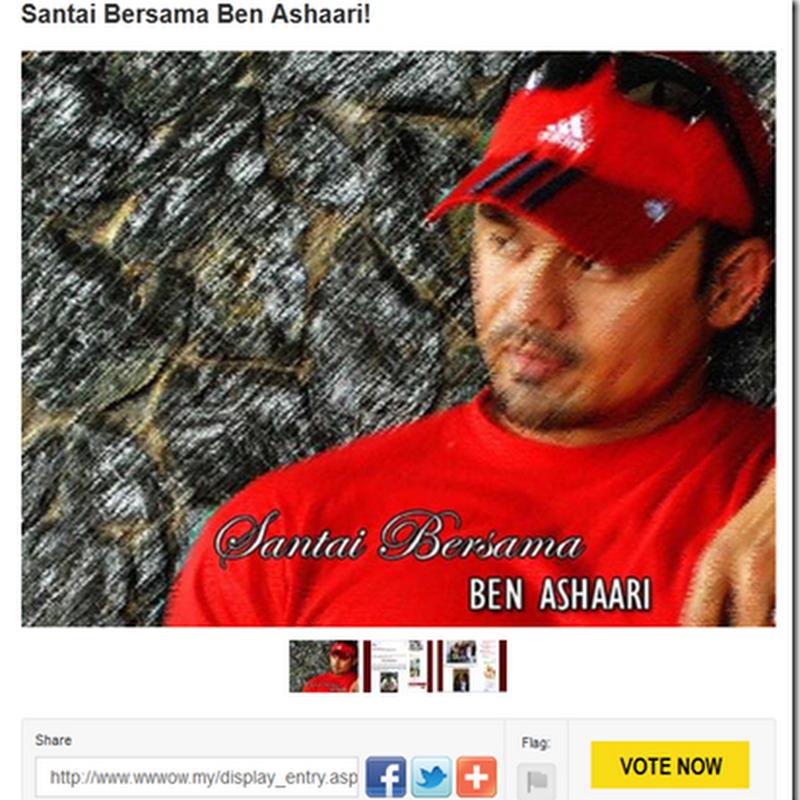 Sudahkah anda mengundi BENASHAARI.COM hari ini ?