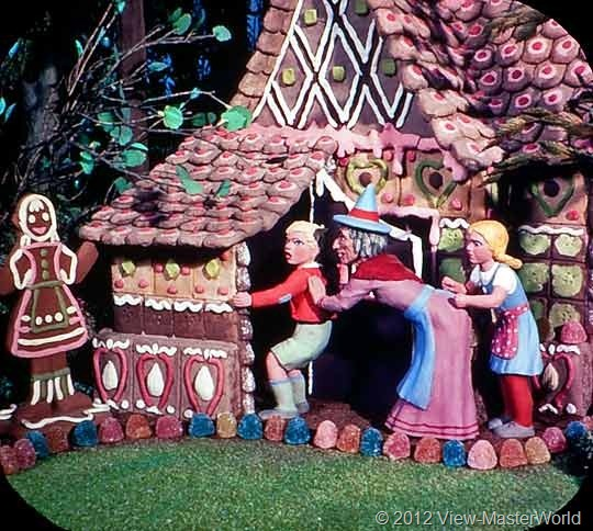 View-Master Three Fairy Tales featuring Hansel and Gretel (B314), Scene 5