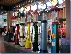 0938 Alberta Calgary - Heritage Park Historical Village - Gasoline Alley Museum - vintage gasoline pumps