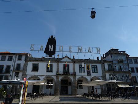 Obiective turistice Porto: crama Sandeman