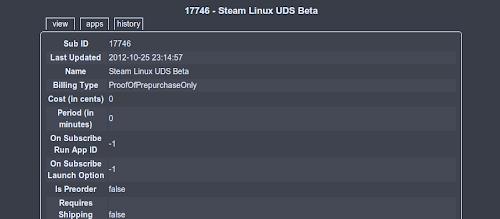 Steam Linux UDS Beta
