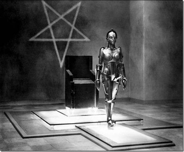 Prod DB © UFA / DR METROPOLIS (METROPOLIS) de Fritz Lang 1926 ALL avec Brigitte Helm classique, science fiction, anticipation, robot, androide, pentacle d'après le roman de Thea Von Harbou