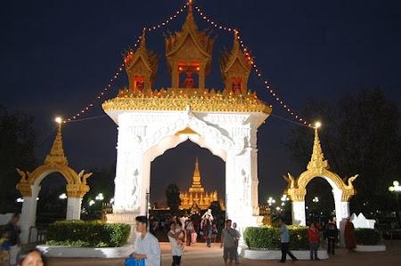 Laos: Pha That Luang Festival