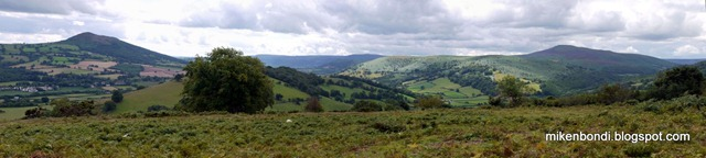 looking back over Pandy