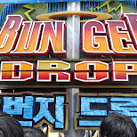 Bungee Drop at Lotte World in Seoul, Seoul Special City, South Korea