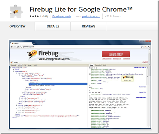 Chrome-Web-Store---Firebug-Lite-for-