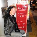 somali in Roppongi, Tokyo, Japan