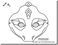 stegosaurus-mask