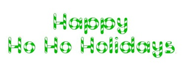 happy ho ho holidays