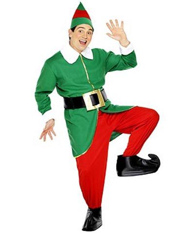 disfraz para navidad de elfo