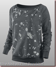 Nike Abstract Print Sweatshirt