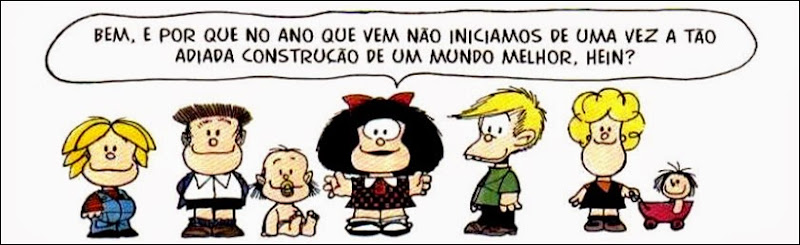 mafalda ano novo mundo melhor