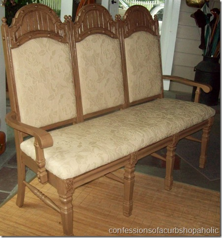 Exceptionnel Triple Chair Bench Complete 006