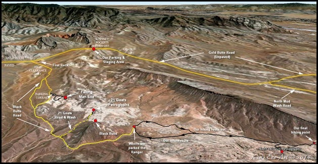 MAP - Khota Circus Hike