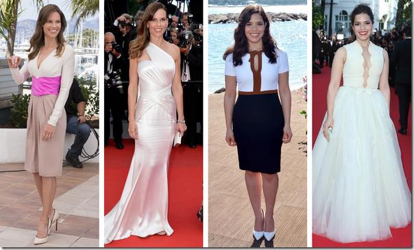 Famosas festival Cannes 2014 08 Hilary Swank