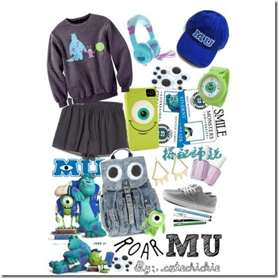 Monster University Inspired Mix and Match 06