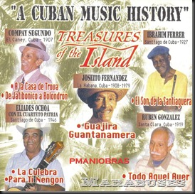 A Cuban Music History frontal