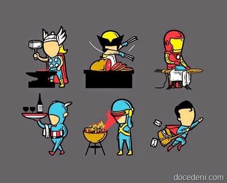 utilidade dos superheróis