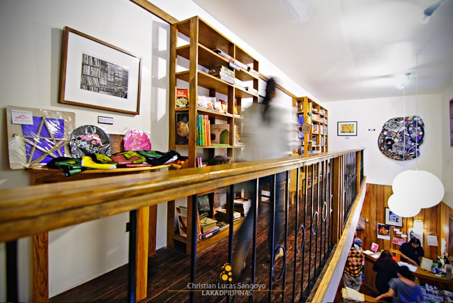 Mt Cloud Bookshop's Mezzanine
