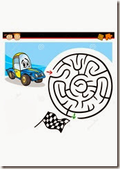 Traffic maze 1