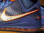 hardwood lebron7 suede 03 First Look at Nike LeBron X Low   Cavs Hardwood Classic?!