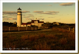 Sunrise at Highland Light