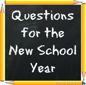 Questions  for New School Year