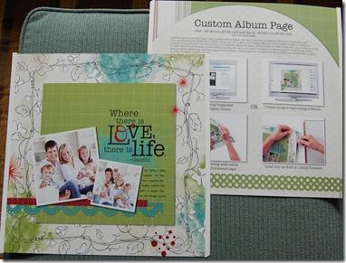 Custom Album Page
