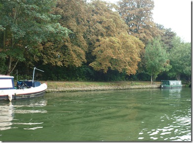 leaving mooring at kings meadow
