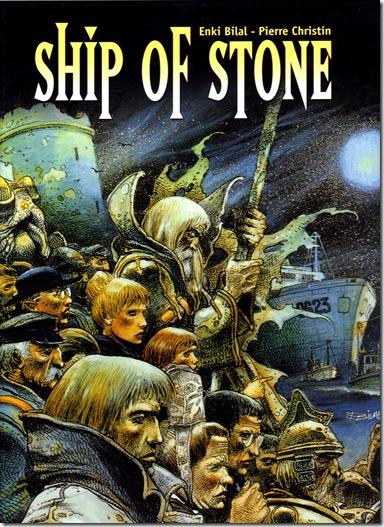 Enki Bilal - El navio de piedra