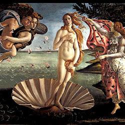 53 - Botticelli - El nacimiento de Venus