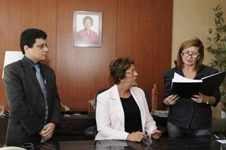 Governadora empossa Anselmo Carvalho como Controlador Geral do Estado (1)