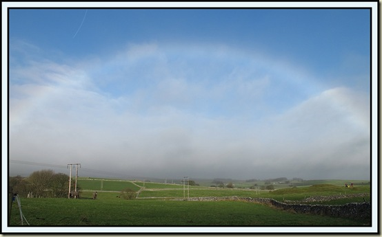 Mistbow near Flagg - 8 Jan 2012
