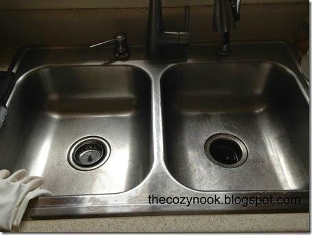 Clean Sink - The Cozy Nook