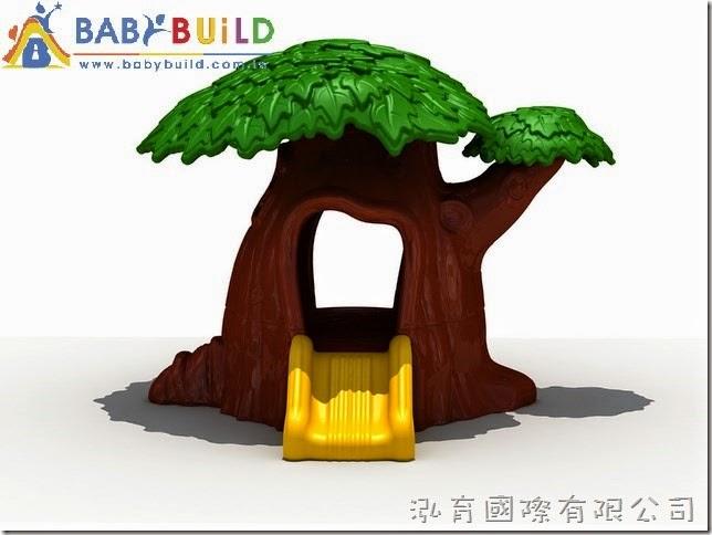 BabyBuild 魔法樹滑梯