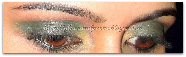 Smokey Bottle Green EOTD